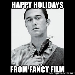 Hey Girl (Joseph Gordon-Levitt) - Happy Holidays From fancy film
