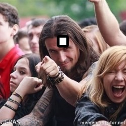 Ridiculously Photogenic Metalhead Guy - .