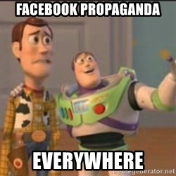 Buzz - Facebook propaganda  Everywhere