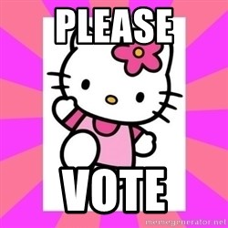 Hello Kitty - Please Vote