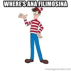Where's Waldo - Where's Ana Filimosina