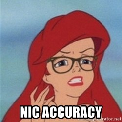 Hipster Ariel- -  NIC ACCURACY