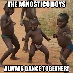 Dancing African Kid - the agnostico boys always dance together!