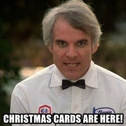 Steve Martin The Jerk -  Christmas cards are here!