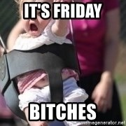 little girl swing - It's Friday Bitches