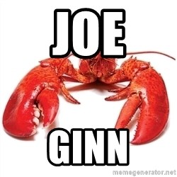 Unable to Relax and Have Fun Lobster - Joe Ginn