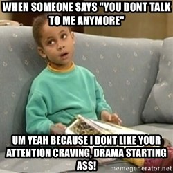 """Olivia Cosby Show - when someone says """"you dont talk to me anymore"""" um yeah because i dont like your attention craving, drama starting ass!"""