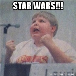 The Fotographing Fat Kid  - Star wars!!!