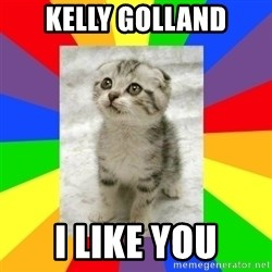 Cute Kitten - kelly golland i like you