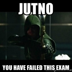 YOU HAVE FAILED THIS CITY - JUtno You have failed this exam