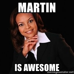 Irrational Black Woman - Martin is awesome