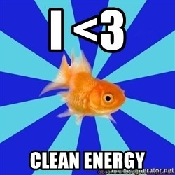 Absentminded Goldfish - i <3 clean energy