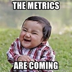 Evil Plan Baby - The Metrics  are coming