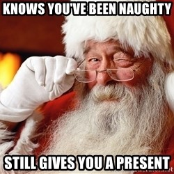 Capitalist Santa - Knows you've been naughty Still gives you a present
