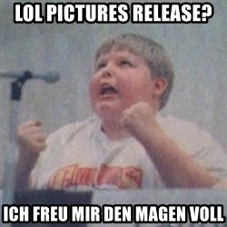 The Fotographing Fat Kid  - Lol Pictures release? Ich freu mir den magen voll