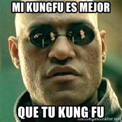 what if i told you matri - Mi KungFu es mejor que tu Kung Fu
