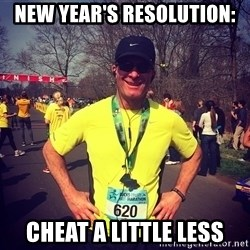 MikeRossiCheat - New Year's Resolution: Cheat a little less