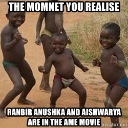 Dancing African Kid - THE MOMNET YOU REALISE RANBIR ANUSHKA AND AISHWARYA ARE IN THE AME MOVIE