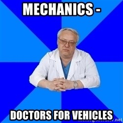 doctor_atypical - MECHANICS - DOCTORS FOR VEHICLES