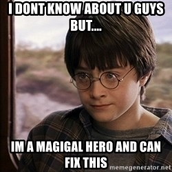 Harry Potter 2 - I dont know about U guys but.... Im a magigal hero and can fix this