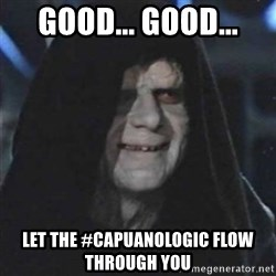 Sith Lord - Good... good... Let the #CapuanoLogic flow through you