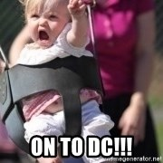 little girl swing -  on to dc!!!
