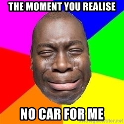 Sad Brutha - The moment you realise No car for me