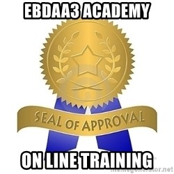 official seal of approval - EBDAA3 ACADEMY ON LINE TRAINING