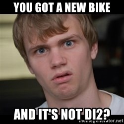 Conspiracy Manke - You got a new bike And it's not DI2?