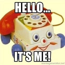 Sinister Phone - Hello... It's ME!