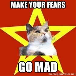 Lenin Cat Red - Make your fears GO MAD