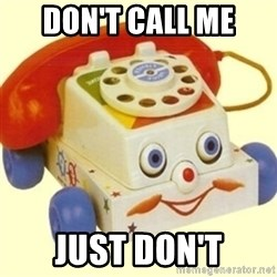 Sinister Phone - Don't call me just don't