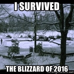 UVIC SNOWDAY - I SURVIVED THE BLIZZARD OF 2016