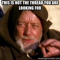 JEDI KNIGHT - This is not the thread you are looking for