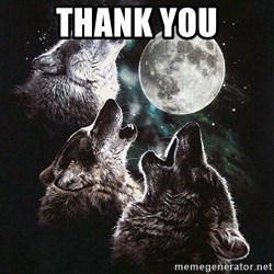 Lone Wolf Pack - Thank You