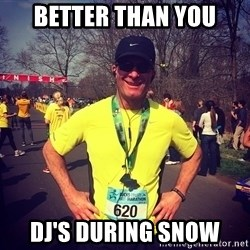 MikeRossiCheat - Better than you DJ's during snow