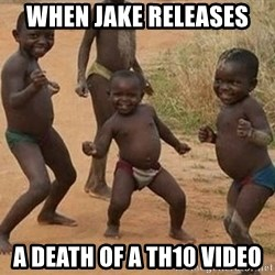Dancing African Kid - When Jake releases A death of a th10 video