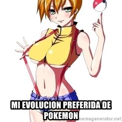 pokemon GIRL -  mi evolucion preferida de pokemon