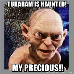 Smeagol - Tukaram is haunted!  My precious!!