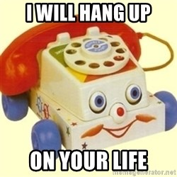Sinister Phone - I will hang up on your life