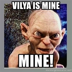 Smeagol - Vilya is mine mine!