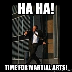 HaHa! Time for X ! - Ha Ha! Time for martial arts!