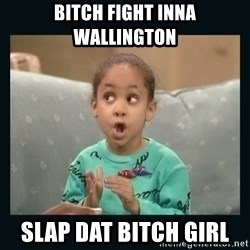 Raven Symone - Bitch fight inna Wallington Slap dat bitch girl