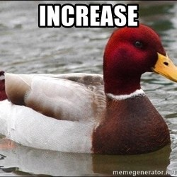 Malicious advice mallard - increase