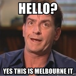 Sheen Derp - Hello? Yes this is Melbourne IT