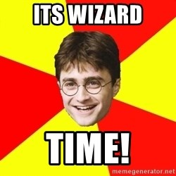 cheeky harry potter - Its wizard Time!