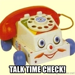 Sinister Phone -  talk time check!
