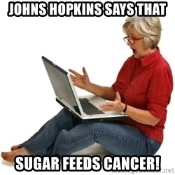 SHOCKED MOM! - Johns Hopkins says that sugar feeds cancer!
