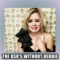 Crying Girl -  The BSR's without Debbie