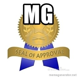 official seal of approval - MG